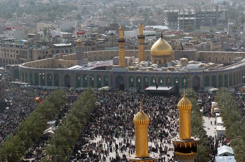 Imam Husayn Mosque in Karbala, Iraq