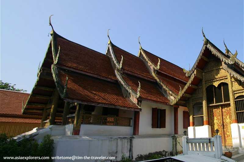 Northern thai temple architecture for Wat architecture
